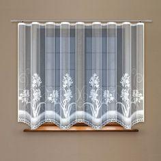 Záclona kusová Fiorella 120 x 300 cm Curtains, Shower, Bathroom, Prints, Home Decor, Rain Shower Heads, Washroom, Blinds, Decoration Home