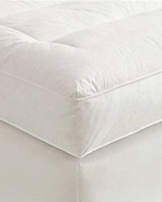 """5"""" Full Goose Down Mattress Topper Featherbed / Feather Bed Baffled"""