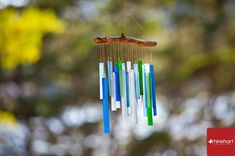 honoring loved ones at your wedding: wind chimes during the ceremony | 25 Unique Ways To Honor Deceased Loved Ones At Your Wedding via InkedWeddings.com