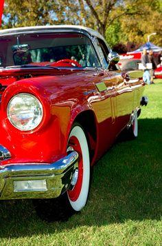 Old School - Cherry 1957 Ford Thunderbird