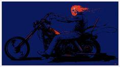 Ghost Rider by Arik Roper