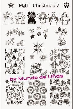 Hot Off The Stamping Press: Mundo de Unas Nail Art Stamping Plates!