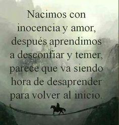 .Inocencia y amor.