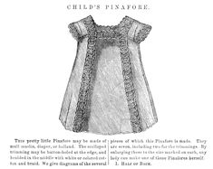 Childs Pinafore Pattern - Vintage Crafts and More