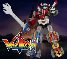 Let's show our support for this Pinoy creation! Proudly Pinoy! Let's make this Voltron Lego set a reality