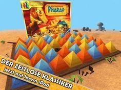 Der zerstreute Pharao   Brettspiel Apps für Kinder   Kids Apps   iPad iPhone