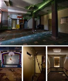 Abandoned mental institution for children - Waltham, Massachusetts