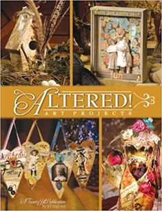 Altered: Art Projects: Jill Haglund: 9781891898143: Amazon.com: Books Book Crafts, Arts And Crafts, Paper Crafts, Craft Books, Paper Art, Altered Book Art, 3d Craft, Altered Bottles, Art Journal Pages