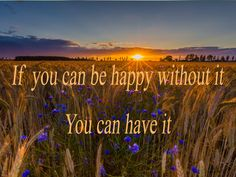 Abraham Hicks 2016 ~  If you can be happy without it, you can have it