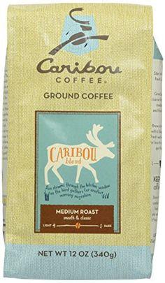 Caribou Coffee Blend Ground Coffee, 12 Ounce Bag - http://teacoffeestore.com/caribou-coffee-blend-ground-coffee-12-ounce-bag/