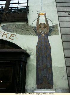 Art Nouveau Woman - Engel Apotheke - Vienna