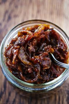 Onion & Fig Jam Crostini Appetizer ~ Cooks With Cocktails Fig Recipes, Chutney Recipes, Canning Recipes, Fig Chutney Recipe, Pancake Recipes, Crepe Recipes, Roasted Figs, Roasted Garlic, Antipasto