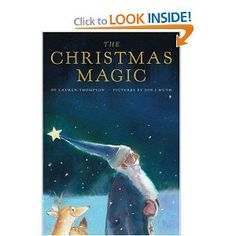 For the little ones: The Christmas Magic by Lauren Thomson $11.55 The illustrations by Jon Muth are breathtaking - destined to be a classic