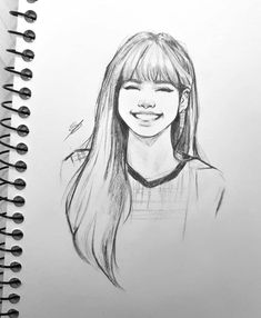 💁♀️ I am posting not at this can't be real -Jimothy 💁♀️ I am posting not at this can't be real - Artist : Aphiwat mueangmun Lisa Blackpink Girl Drawing Sketches, Cool Art Drawings, Pencil Art Drawings, Girl Drawings, Girl Sketch, Doodle Sketch, Kpop Drawings, Disney Drawings, Art Sketchbook
