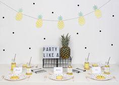 ... + Nina Designs + Parties: FIESTAS: PIÑA PARTY!