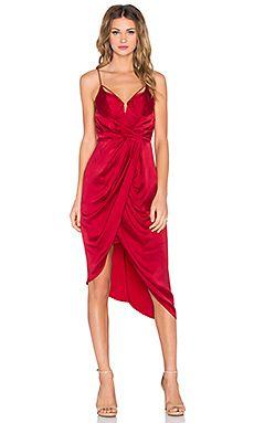 SUEDED BALCONETTE DRESS