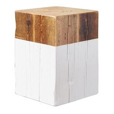 Shop the Oscar Rustic Lodge White Reclaimed Wood Square Stool and other Stools & Ottomans at Kathy Kuo Home Tufted Ottoman, Wood Square, Weathered Wood, Round Stool, Rustic Chic, Rustic Irons, Rustic Furniture, White Furniture
