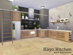 The Sims Resource: Kayo Kitchen by Angela • Sims 4 Downloads