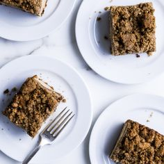 We discovered the best coffee cake. Turns out, we didn't even know that we were already in the possession of greatness.