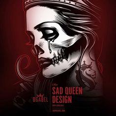 OG ABLE ART! Og Abel Art, Chicano Art, Creepy Art, Creative Artwork, Skull Art, Unique Tattoos, Tattoo Studio, Art Google, Love Art