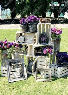 17 Beauty Rustic Party Ideas and Inspiration Hervorragende 17 Beauty Rustic Party Ideen und Inspirat Purple Wedding, Wedding Flowers, Wedding Rings, Deco Champetre, Deco Floral, Vintage Party, Event Decor, Wedding Designs, Wedding Ideas
