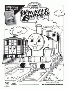 Print Out Pictures Of Toby The Tram Engine Thomas Train And Friends Coloring Pages For Boys