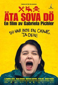Swedish movie 'Äta, Sova, Dö' by Gabriela Pichler. (Movie #1. 1.1.2014)