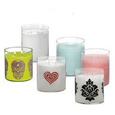 Place the white Glolite jars or Glolite pillars on Partylite's Color Changing Bases for even more illuminating enjoyment!