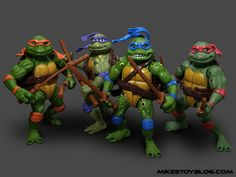 ninja turtle action figure released with secret of the ooze - Google Search
