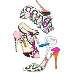 totally radical sophia webster shoes | Sketchbook : Beauty Stuff