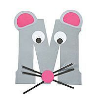 """""""M Is For Mice"""" Letter M Craft Kit.this is so cute to do with every letter and then make a book out of them at the end of the alphabet accept lower case please we read in lower case so we teach in lower case Letter M Activities, Preschool Letter Crafts, Alphabet Letter Crafts, Abc Crafts, Preschool Projects, Daycare Crafts, Classroom Crafts, Preschool Activities, Letter Art"""