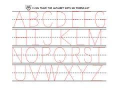 Kindergarten Alphabet Worksheets Printable   Activity ...