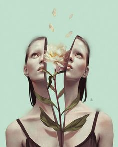 New Illustrations by Aykut Aydogdu Turkish illustrator Aykut Aydoğdu is one of those artists who's been frequently added to our illustration galleries over the years. Since we more or less have shown his pieces one by one, we've never… Surreal Artwork, 3d Artwork, Artwork Design, Fantasy Artwork, Surreal Portraits, Artwork Ideas, Artwork Pictures, Kunst Inspo, Art Inspo