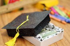 >Grad Gift Cash Diploma.