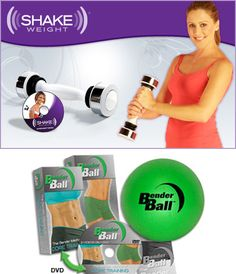All in a days work: Shake weight or bender ball... thoughts, comments, concerns?