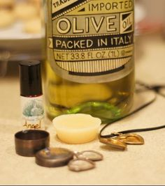 Cool DIY for how to turn old lockets into solid perfume containers. I wish I had an old locket.