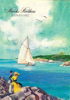 Vintage Brooks Brothers catalog add.