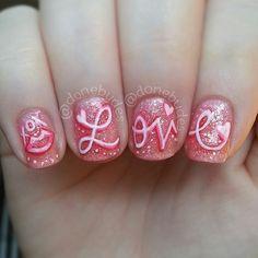 #nail #nails #nailart #Valentines Day
