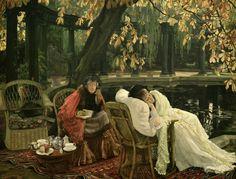 A Convalescent - James Tissot  1876