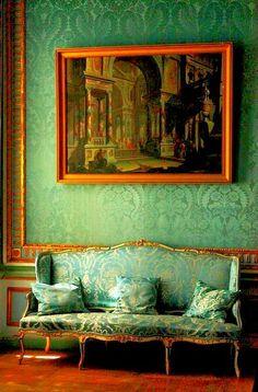 Gorgeous Green Textures | Kuskovo House near Moscow