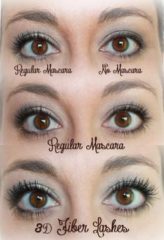 Before & After 3D Lashes! get the mascara you have DREAMED OF. No more falsies, no harmful ingredients. Its all natural and comes with a 14 day Love it Guarantee!!!