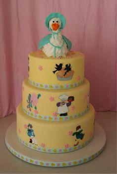 Mother Goose Nursery Rhymes Cake