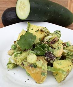 Potato Salad with Avocado Dressing from One-Dish Vegan