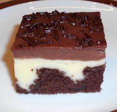 Dierkovaný koláč s pudingom (fotorecept) Love Cake, Tiramisu, Sweet Treats, Cheesecake, Cooking Recipes, Sweets, Baking, Ethnic Recipes, Food