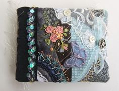More gorgeous Crazy Quilting by Hideko