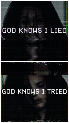 Lana Del Rey #LDR #God_Knows_I_Tried