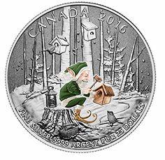 $25 FINE SILVER COIN WOODLAND ELF