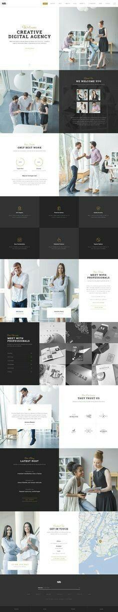 Web Design Inspiration from NRG Part 1 Design Web, Layout Design, Layout Web, Logo Design, Website Layout, Webdesign Inspiration, Website Design Inspiration, Design Ideas, Corporate Design