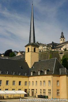 Centro cultural de la Abadía de Neumünster en Grund en Ciudad de Luxemburgo