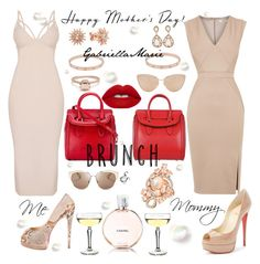 """""""Me& Mommy, Like Mother Like Daughter"""" by gabriellaaudiamarie ❤ liked on Polyvore featuring Oasis, Christian Louboutin, Alexander McQueen, Cutler and Gross, Christian Dior, Kenza Lee, Cartier, LE VIAN, Chanel and Lime Crime"""